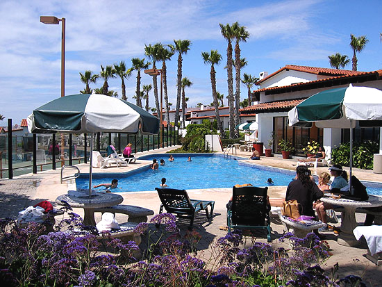Poolside At La Paloma Rosarito Beach