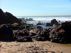 Beautiful beaches and surfing in Rosarito Beach, Mexico
